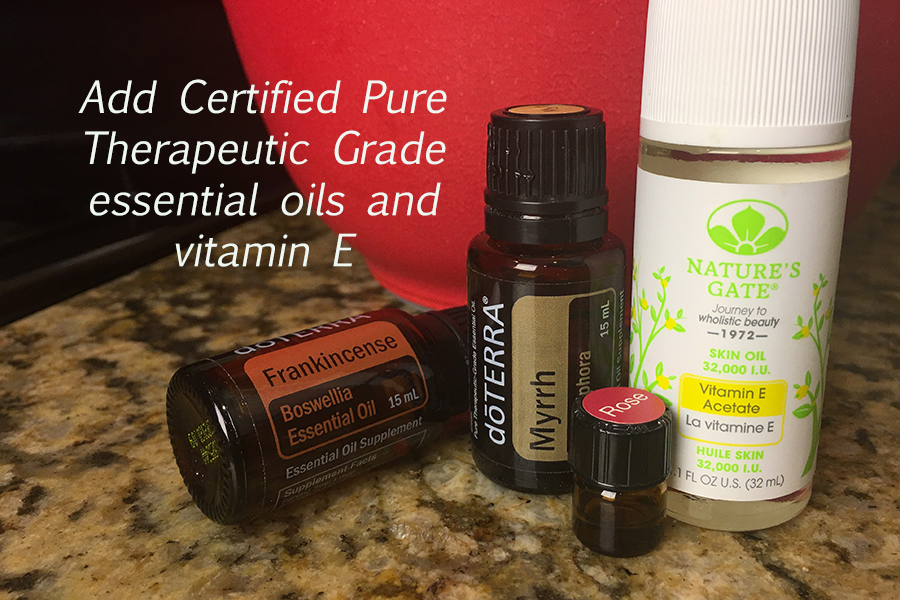diy skin care with frankincense