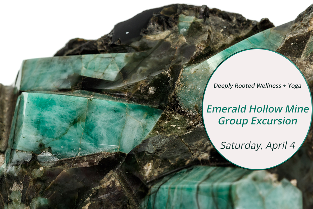 Adventure travel blogger Erica Rascon hosts group excursion to Emerald Hollow Mine NC