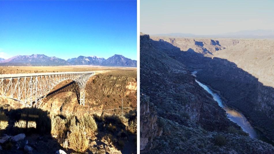 The Rio Grande Gorge Bridge 10 miles northwest of Taos, New Mexico, USA © 2018 ericarobbin.com | All rights reserved.
