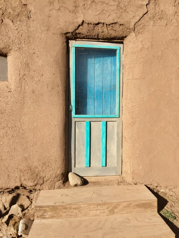 Door at Taos Pueblo, Taos, New Mexico, USA © 2018 ericarobbin.com | All rights reserved.