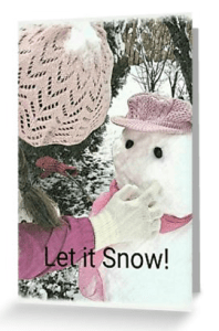 Vintage snowman greeting card © 2018 ericarobbin.com | All rights reserved.
