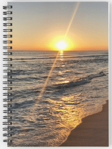 Florida sunset notebook © 2018 ericarobbin.com | All rights reserved.