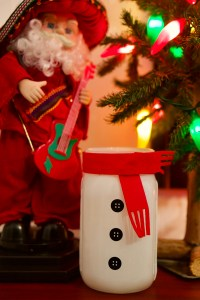 Christmas decorated Mason jar © 2018 ericarobbin.com | All rights reserved.