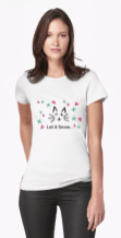 Let it Snow... Women's T-Shirt © 2018 ericarobbin.com | All rights reserved.