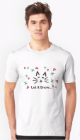 Let it Snow... Unisex T-Shirt © 2018 ericarobbin.com   All rights reserved.