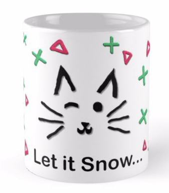 Let it Snow... Mug © 2018 ericarobbin.com | All rights reserved.