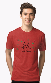 Let it Snow... Tri-blend T-Shirt © 2018 ericarobbin.com | All rights reserved.