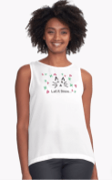 Let it Snow... Contrast Tank © 2018 ericarobbin.com   All rights reserved.
