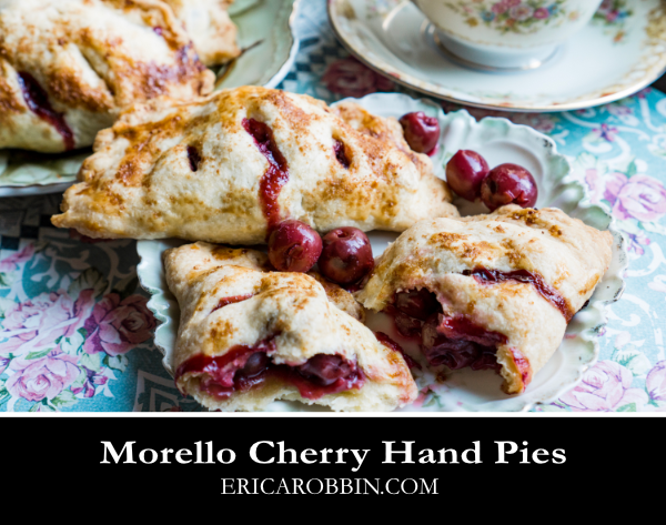 Morello Cherry Hand Pies © 2018 ericarobbin.com | All rights reserved.