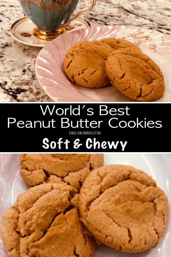 World's Best Peanut Butter Cookies © 2018 ericarobbin.com | All rights reserved.