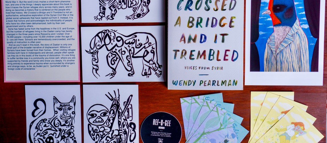We Crossed a Bridge and It Trembled: Voices from Syria by Wendy Pearlman © 2019 ericarobbin.com | All rights reserved.