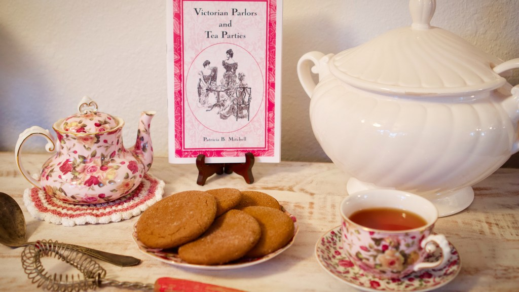Victorian Parlors & Tea Parties by Patricia B. Mitchell © 2019 ericarobbin.com | All rights reserved.