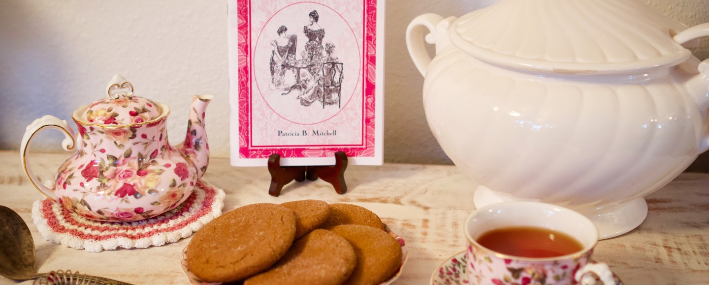 Victorian Parlors & Tea Parties by Patricia B. Mitchell © 2019 ericarobbin.com   All rights reserved.