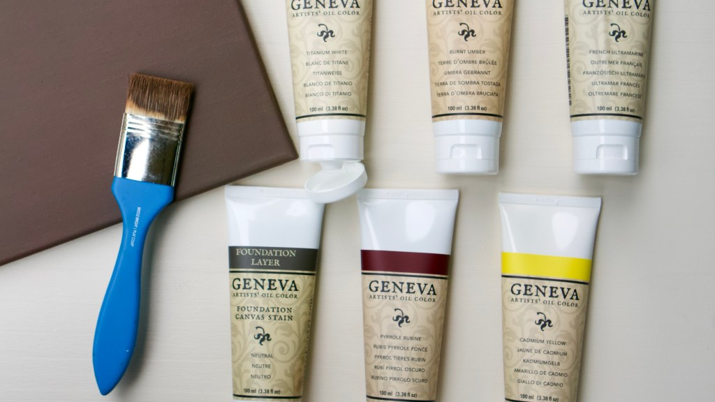 Geneva Paint Essential Palette and Foundation Layer Stain © 2019 ericarobbin.com   All rights reserved.
