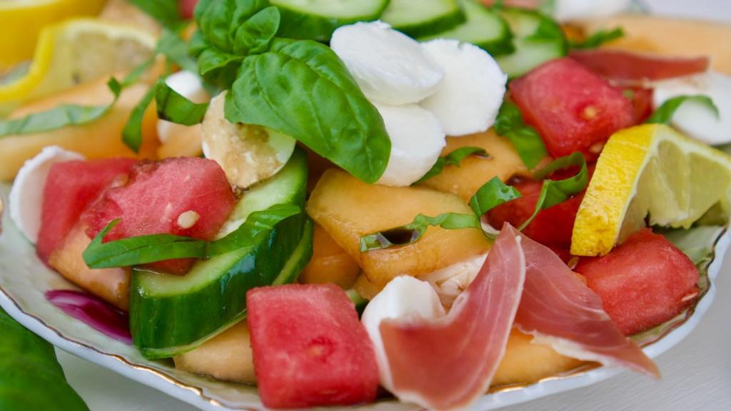 Summer Melon Salad © 2019 ericarobbin.com | All rights reserved.