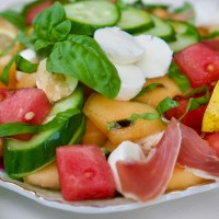 Summer Melon Salad © 2019 ericarobbin.com | All rights reserved.