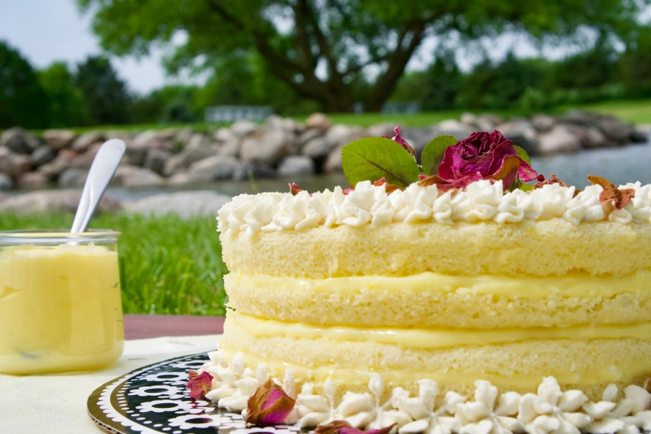 Sea Level and High Humidity Summer Lemon Cake © 2019 ericarobbin.com   All rights reserved.