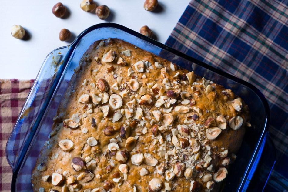 Cardamon Hazelnut Banana Bread | Erica Robbin