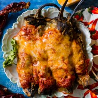 New Mexico Style Chile Rellenos