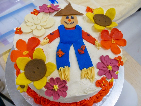 Scarecrow Cake | Erica Robbin