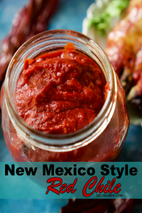 New Mexico Style Red Chile | Erica Robbin