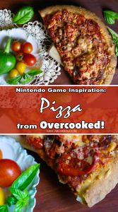 Nintendo Game Inspiration: Pizza from Overcooked! | Erica Robbin