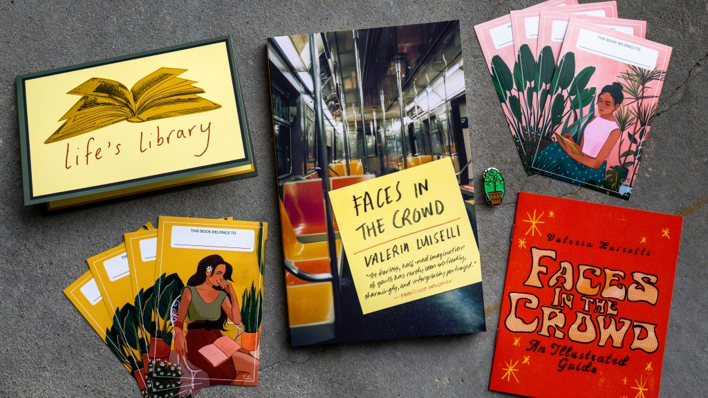 Faces in the Crowd by Valeria Luiselli   Erica Robbin