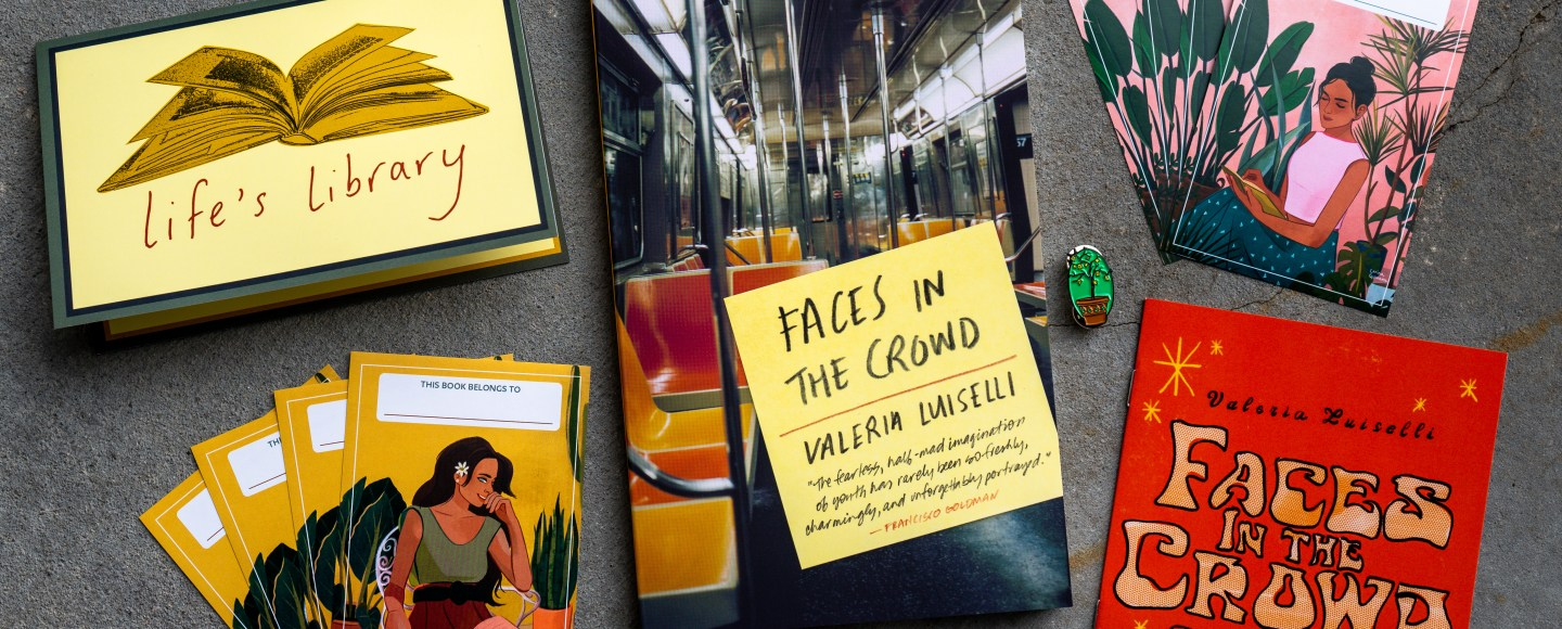Faces in the Crowd by Valeria Luiselli | Erica Robbin