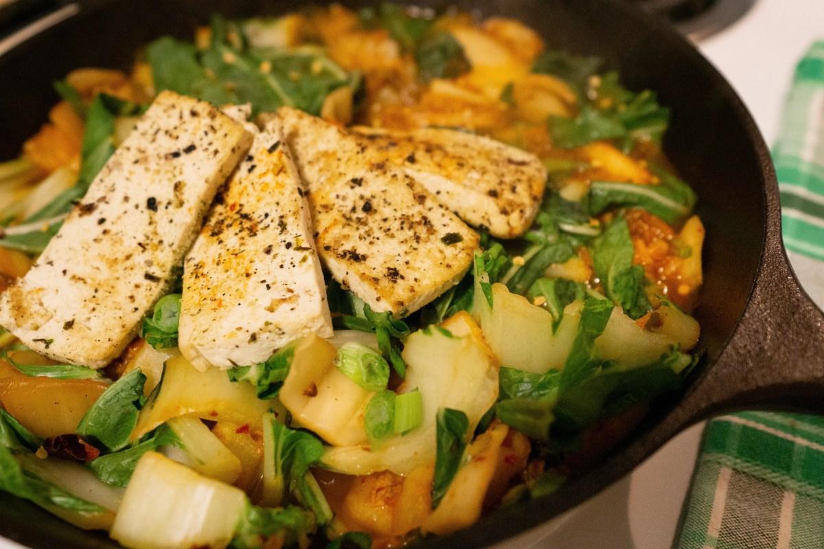 Kimchi Stew Recipe| Erica Robbin