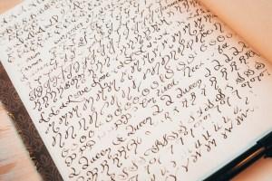 Calligraphy Alphabet Letters   Erica Robbin