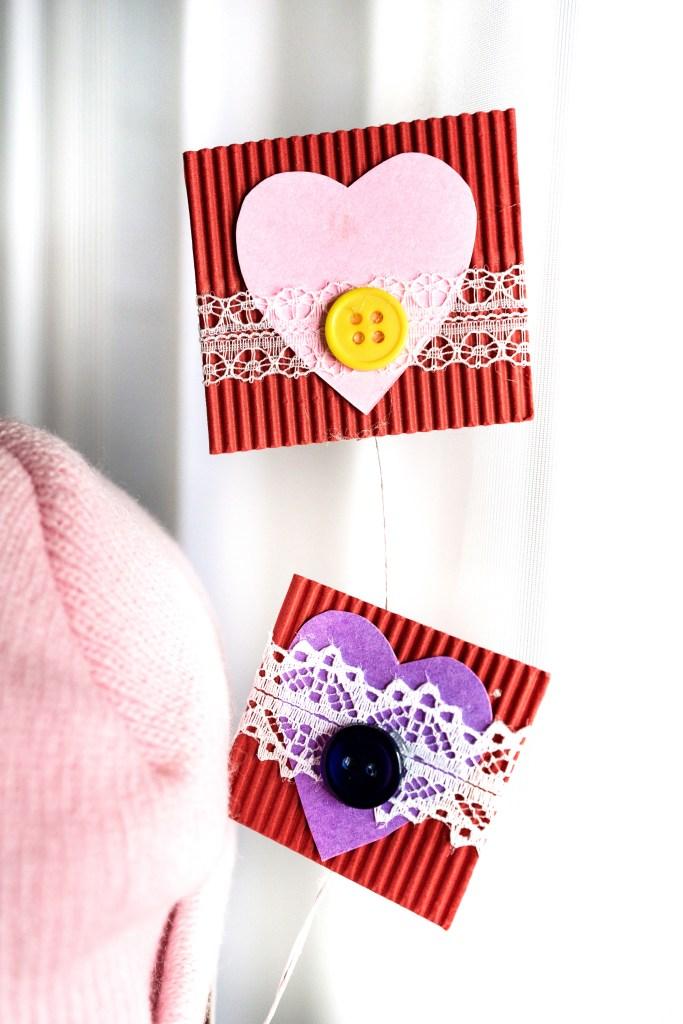 Adorable Wooden Valentine's Day Craft Decor Accessory | Erica Robbin