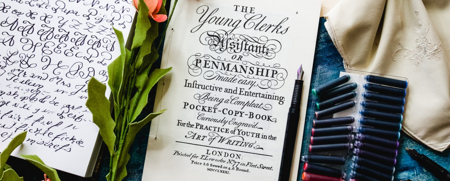 The Young Clerks Book of Penmanship