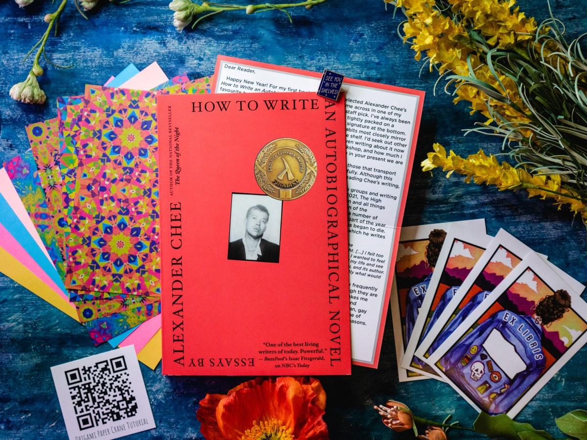 Autobiographical Novel Essays by Alexander Chee | Erica Robbin
