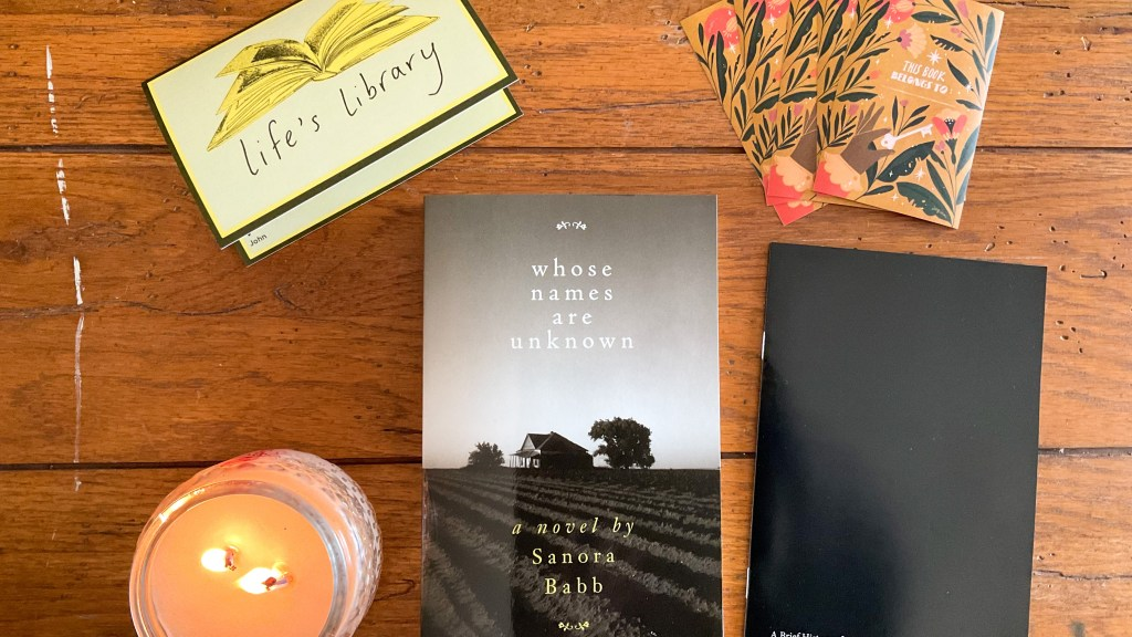 Whose Names Are Unknown by Sanora Babb | Erica Robbin