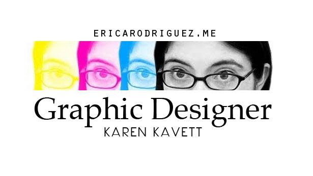 Graphic Designer Karen Kavett
