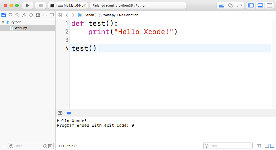 Running Python in Xcode: Step by Step — Erica Sadun