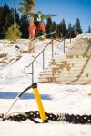 Brandon Cocard Rail Slide Squaw Valley USA 2010