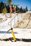Brandon Cocard Rail Slide Squaw Valley USA 2010