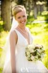 Bridal Portrait Tahoe Donner Truckee CA