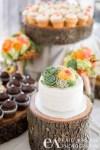 Shabby Chic wedding cake design by Flourgirlweddingcakes.com