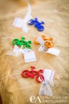 Bicycle keychain wedding favors