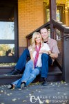 Engagement Portrait in Historical Downtown Truckee, CA. Jenna & Trent