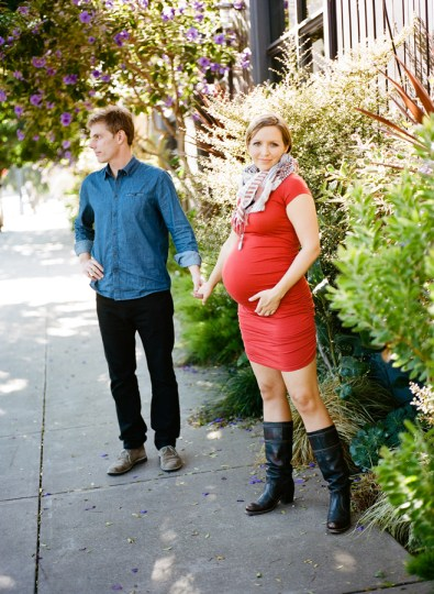 San Francisco Maternity Session.