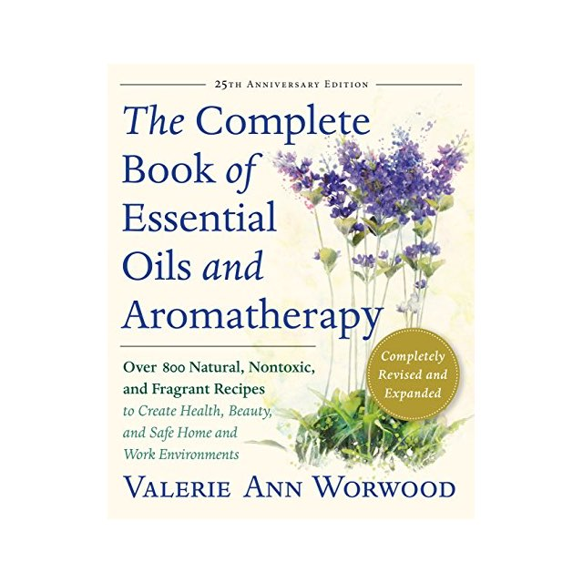 complete book of essential oils book cover
