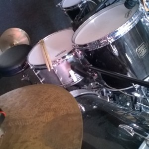 Soloed Snare Shell Mic