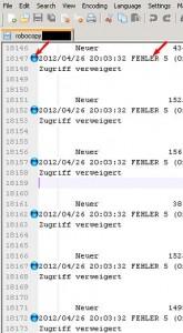 Notepad++ - Log Files filtern (2/3)