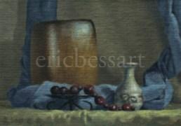 Monadic Elements, Oils, 5x7, 2014