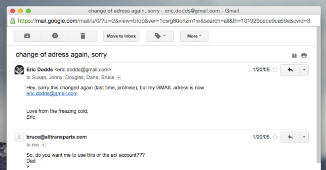 first-gmail-message-ever-sent
