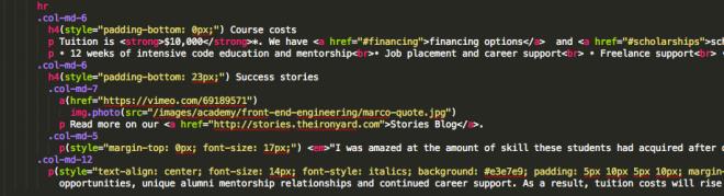 the-iron-yard-website-code