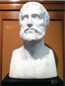 Aristotle, Marble Commission - Concord Univ. Athens, WV